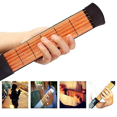 Pocket Acoustic  String Fingerboard  Chord Trainer  Guitar Practice Tool TH