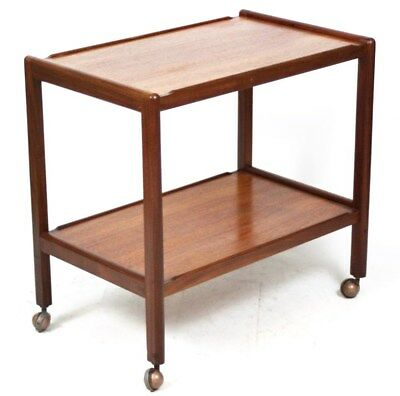 Vintage G Plan Mahogany Serving Tea Trolley - FREE Shipping [PL3954]