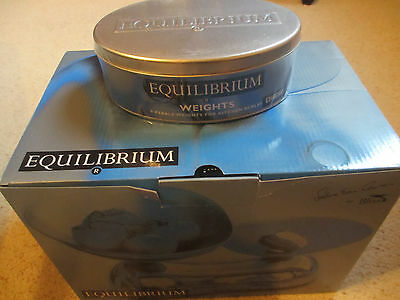 Equilibrium Kitchen Scales and Weights by Sebastian Conran. Brand new.