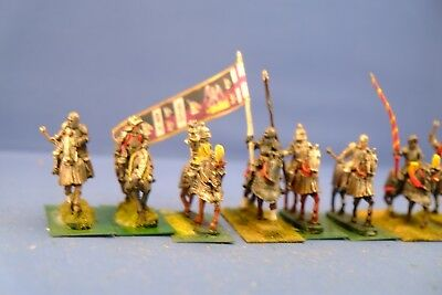 Painted 28mm War of The Roses Cavalry -Individual Bases. Perfect for Saga! Lot 4