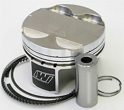 Wiseco 84.5MM Bore +.5MM Oversized 8:1 CR Pistons BMW 2.8L M52 M52b28 E36 Turbo