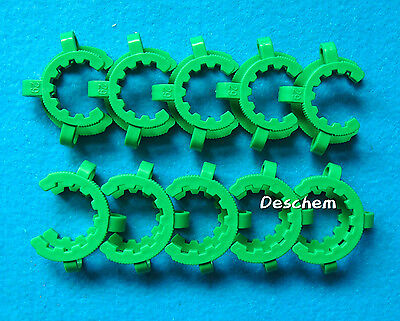 29#,Laboratory Plastic Clamp Clip 29/32(29/42) Glass Ground Joint,10pcs/Lot