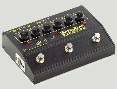 Sansamp Programmable Bass Driver DI new in box!