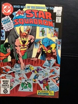 DC's ALL-STAR SQUADRON FIRST ISSUE 1981