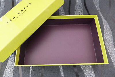 TED BAKER Large Purse Storage Gift Box New