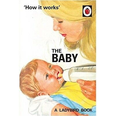 How it Works The Baby Ladybird NEW Hardback Book Grown Ups Adult Classic Retro