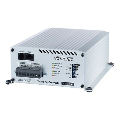 Votronic 25A 24V DC to 12V DC automatic multi-stage battery to battery charger