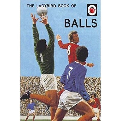 The Ladybird Book of Balls NEW Hardback Classic Grown Ups Adult Retro Xmas Gift