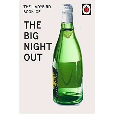 Ladybird Book of The Big Night Out NEW Hardback Grown Ups Adult Retro Xmas Gift