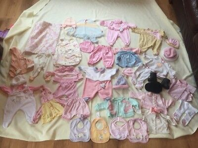 Baby Annabelle Bumper Bundle Of Genuine Zapf Baby Annabel Clothes Great Lot Vgc