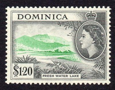 Dominica 1.20 Dollar Stamp c1954-62 Mounted Mint