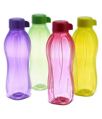 Tupperware Eco Aquasafe Water Bottle Eco Sports Bottle 310 ml to 1 Ltr Brand New