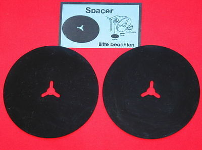 2  ++ Brand New ++ Rubberised Spacer  For Reel To Reel Recorders