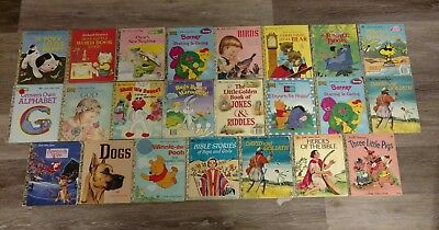 Lot of 23 Little Golden Books!! Some are Vintage Rare!!!