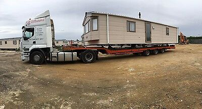 Static Caravan Transport throughout the UK. £200,000 insurance cover