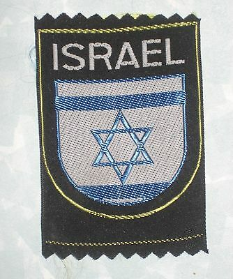 "Israel Patch - 2"" x 3"""