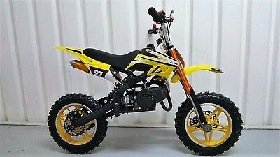 New 50cc Mini Dirt Bike Scrambler Free Delivery. Only £199.99 on our site