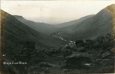 Real Photo Postcard High Cup Nick Middleton-In-Teesdale, County Durham, Sinclair