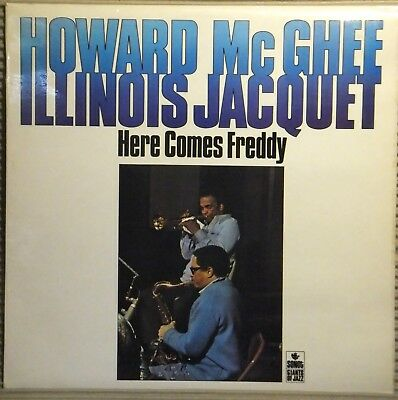 """Howard Mcghee & Illinois Jacquet """"here Comes Freddy"""" - Sonet Records 1976"""