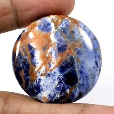 42.50 cts Natural Sodalite Beautiful Designer Round Loose Cabochon Gemstone