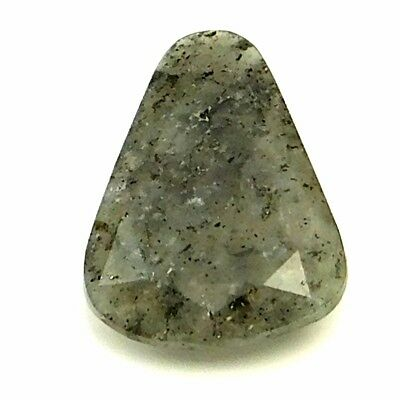 14.45 cts 100% Natural Green Onyx Fancy Shape Both side Faceted Loose Gemstone