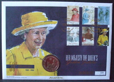 Queen  Elizabeth  Large  F/d  Coin  Cover