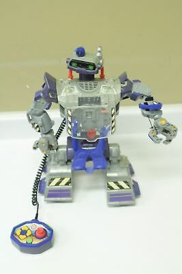 """Mattel Rescue Heroes URV Ultimate Robot Vehicle 16"""" Tall WORKS"""