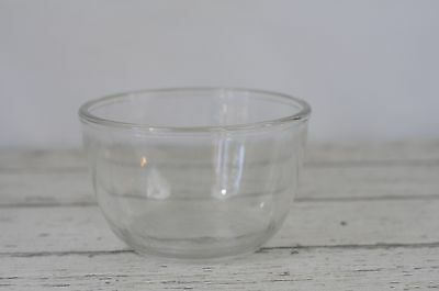 Vintage Glass Mixing Bowl