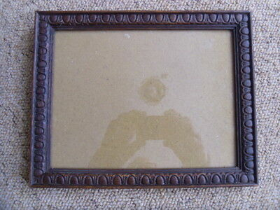 A Decorative Antique Vintage Oak Portrait/landscape Picture Frame .