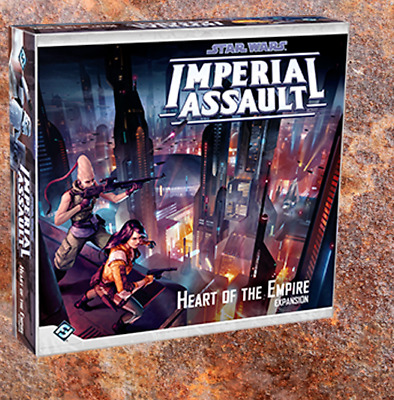 Star Wars Imperial Assault – Heart Of The Empire – Figures and Deployment Cards