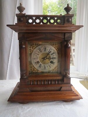 Antique Junghans Mantel / Bracket Clock
