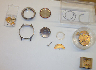 Omega Seamaster Cosmic 2000 SS Automatic Parts