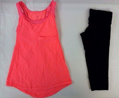 Lululemon Athletica Women's Lot of 2 Yoga Top/Pants Size 6