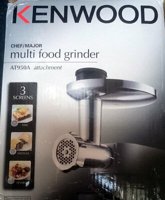 Kenwood AT950A Mincer and Food Grinder Attachment for Kenwood Chef and Major