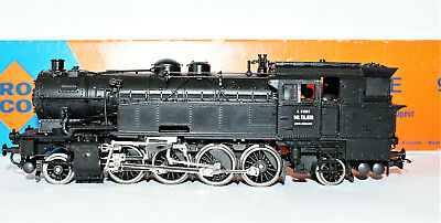 ROCO-TRAIN-HO-ref-04122-B-LOCOMOTIVE-VAPEUR SERIE 93 141 TA 670  EPOQUE III +BO