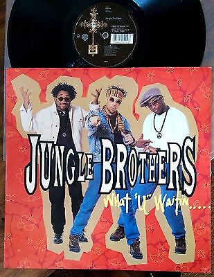 "Jungle Brothers ‎– What ""U"" Waitin' ""4""? Original 1990 UK 12"""