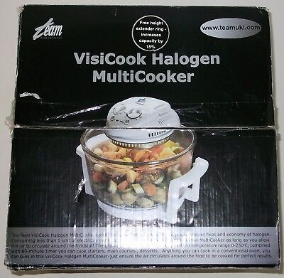 Team Visicook Halogen Multicooker CR3 1300W. New and Boxed