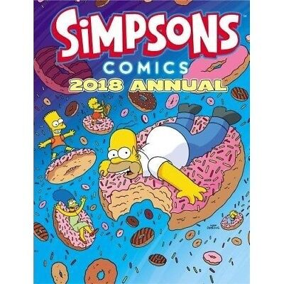 Simpsons Annual 2018 NEW Hardback Comic Year Book 1785656569 Childrens Xma Gift
