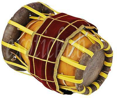 New Thakil~Thavil~South Indian Drums~Jackfruit Wood~Real Images~Bhajan~Kirtan~Dj