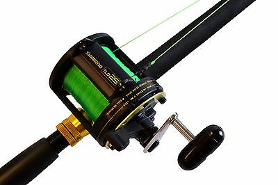 New Shimano TLD25 Lined Rod and Reel Combo