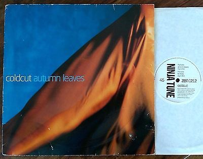 "Coldcut ‎– ""Autumn Leaves"" original 1993 UK 12"""