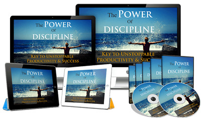 6 Page WebSite Sales Funnel In The Popular Niche - Power of Discipline MUST SEE!