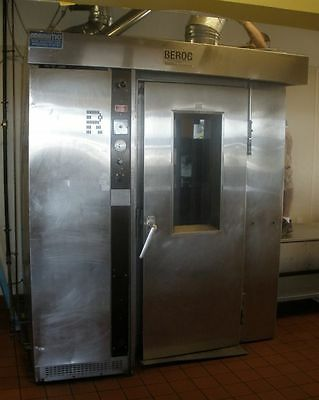 Revent Natural Gas Rotating Commercial Bakery Rotary Single Rack Oven