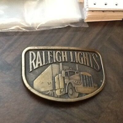 VINTAGE RALEIGH BELT BUCKLE FREE SHIP AS SHOWN  lot 35B