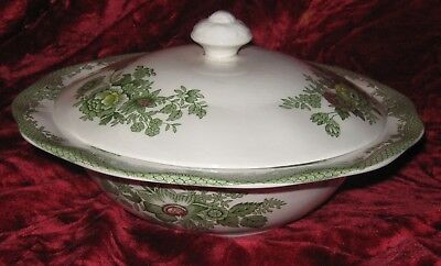 1 - Enoch Wedgwood Kent Covered Vegetable Dish  (2017-123)