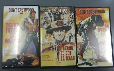 Pack VHS Clint Eastwood