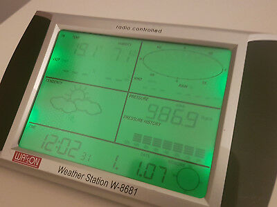 Watson Wireless Weather Station W-8681 (Base Station Only) - NO Reserve