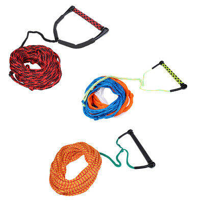 Professional Water Ski Wakeboard Kneeboard Tow Rope Line Cord with Handle