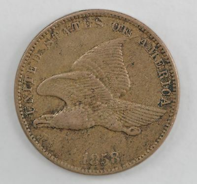 1858 Flying Eagle One Cent *562