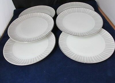 "PATTERN NASSAU BY HEINRICH H AND CO. SIX salad plates 7 7/8"" DIAMETER"
